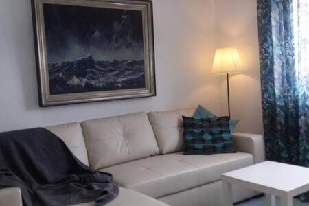 Cozy appartement op 80 meter van het strand.