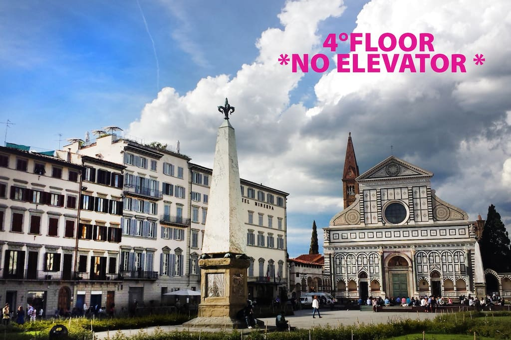 Location: S. Maria Novella Square!!