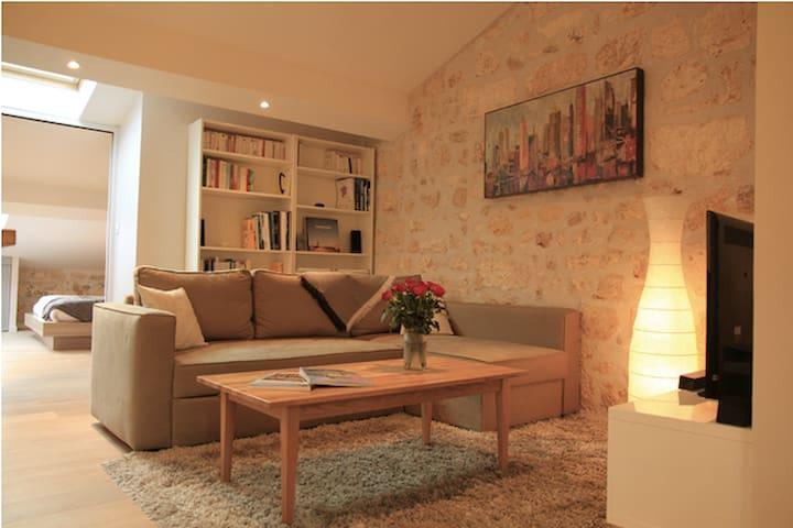 Appartement plein cœur historique