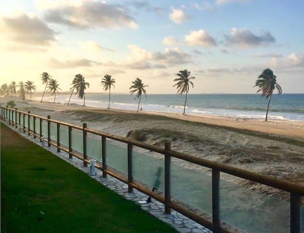 Beach front!Kitesurf Haven!Cumbuco - Cumbuco - Apartament