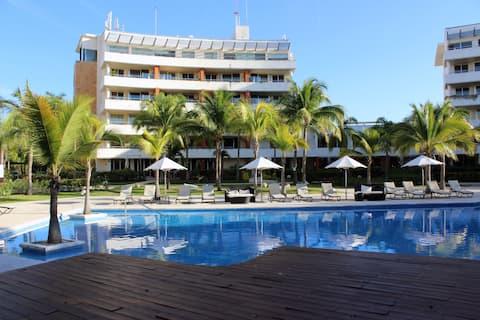 Aak-Bal Beach Resort Departamento Dos Cuartos