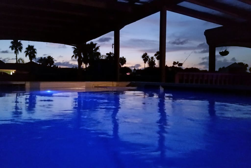 OR RELAX IN THE POOL FOR THE SUNSET