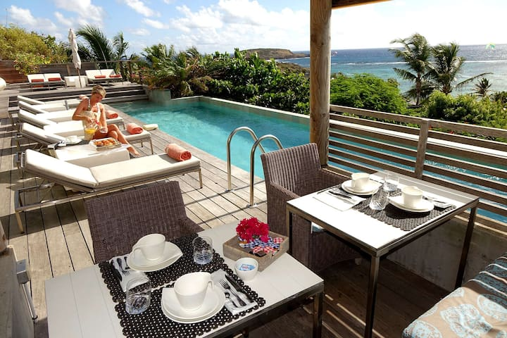 Luxury Lagoon Suite St Barts - Gustavia - Guest suite
