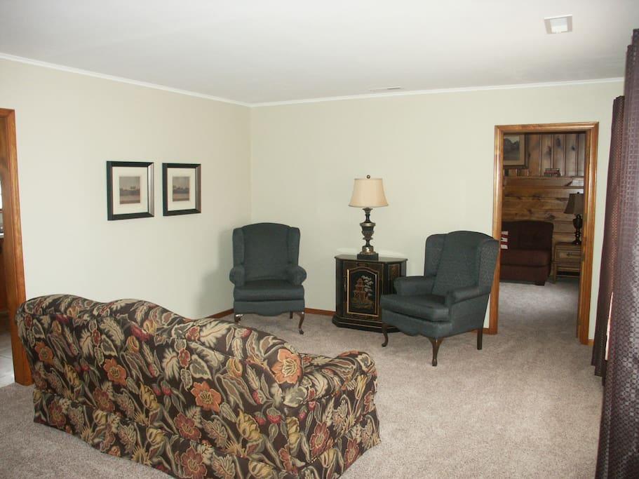Light, spacious living room.