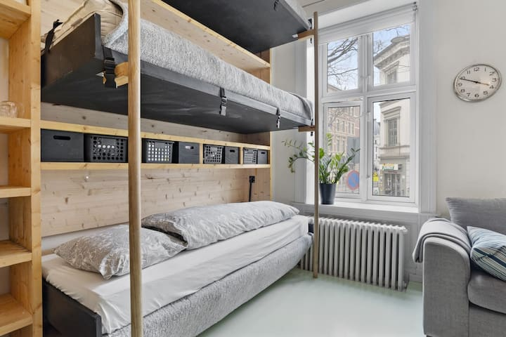 Centrally placed design studio appartment.