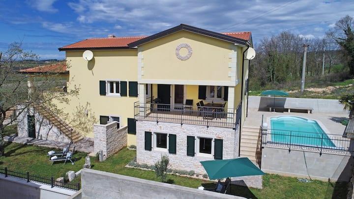 Villa Aurelia Haus 2  in Porec mit privatem Pool