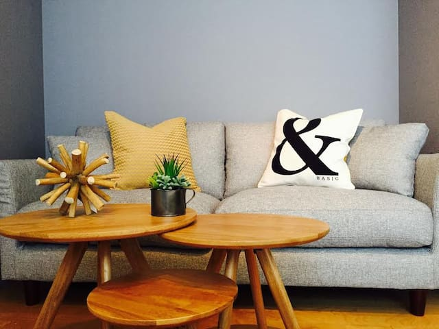Comfortable sofa perfect for reading and chilling out