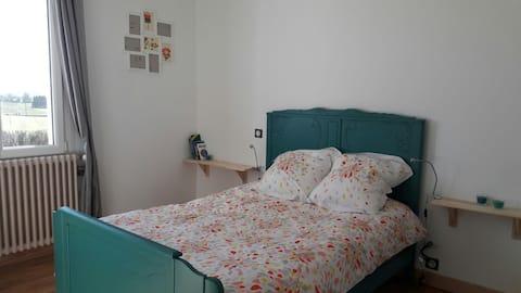 Très belle chambre avec SdB et Wc privatifs