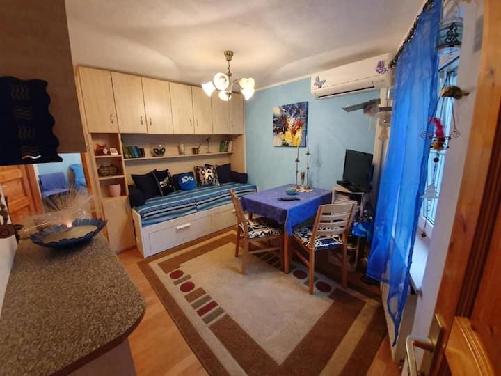 Izola - Isola: blue apartment