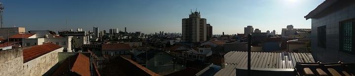Experiência em bairro típico paulistano.