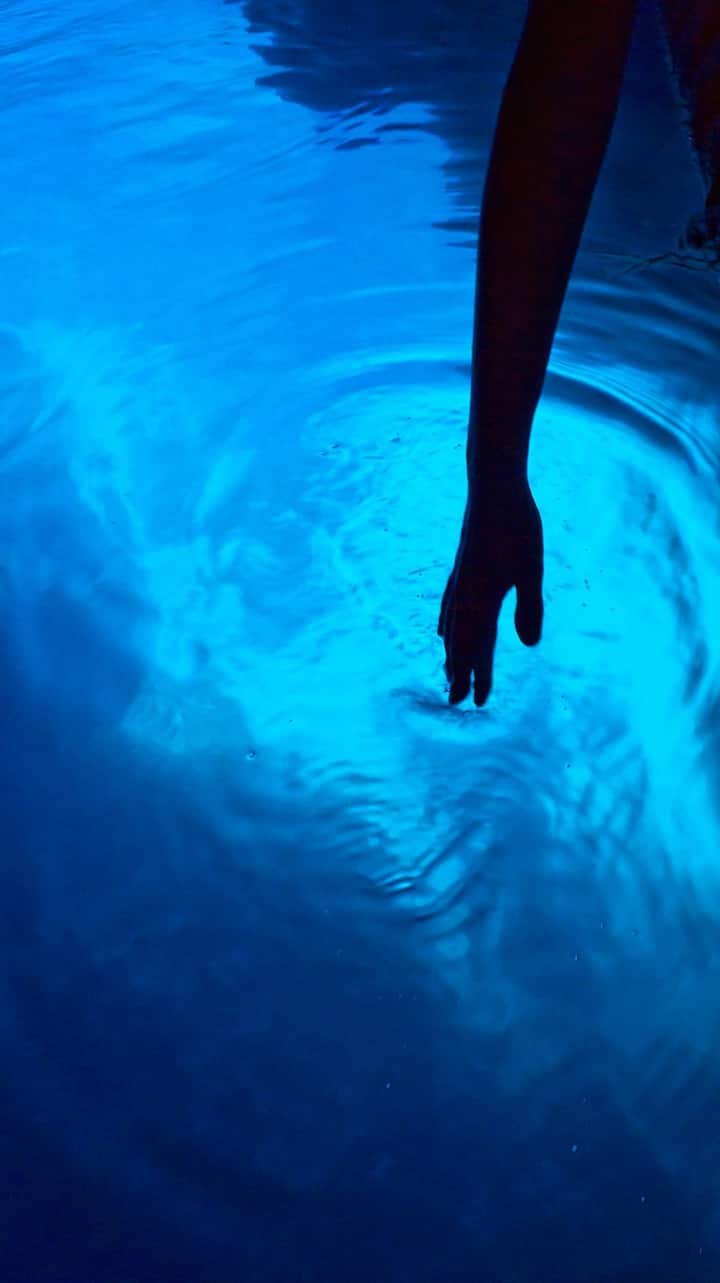 You will be amazed by the Blue cave glow