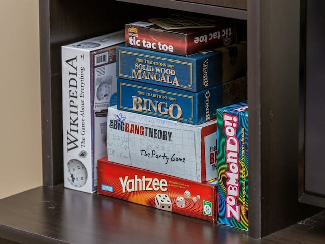 Lots of great games!