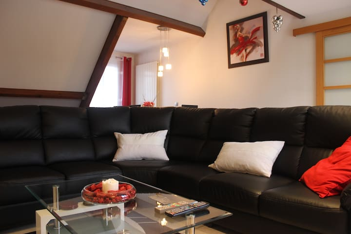 Nice flat for 6 people - Le Blanc-Mesnil - Apartment