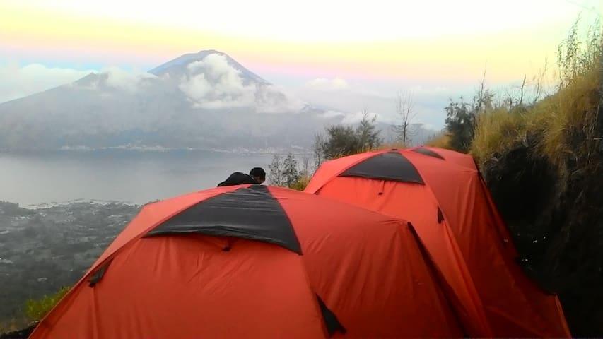 mt batur camping - Kintamani - Tent
