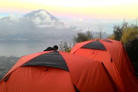 mt batur camping - Kintamani - Zelt
