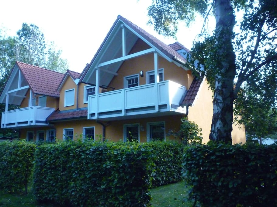 hintere Balkonseite