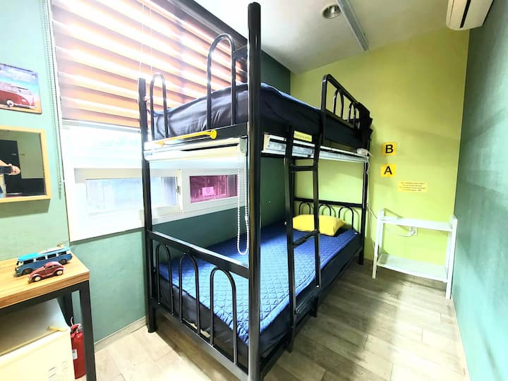 Wide Bed for 2 Man Dormitory