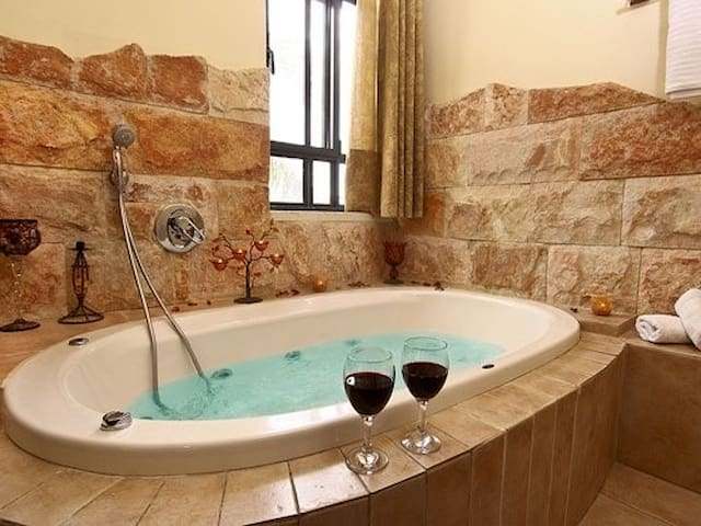 Jacuzzi in each Family Suite