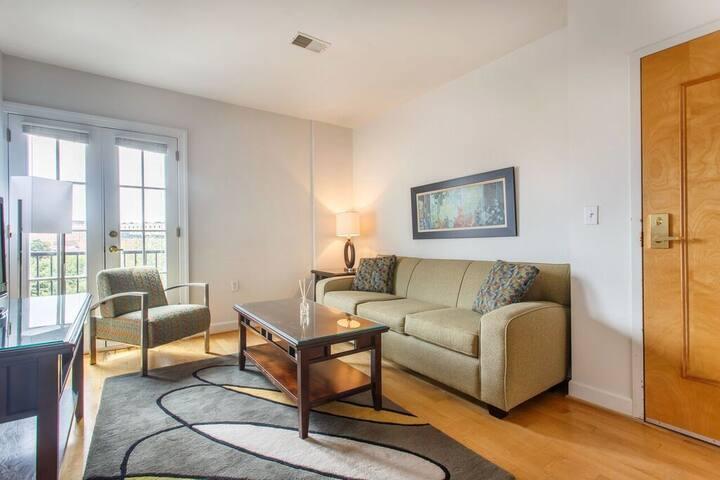 [1128-1]1BR At Lancaster Square - Baltimore - Apartment