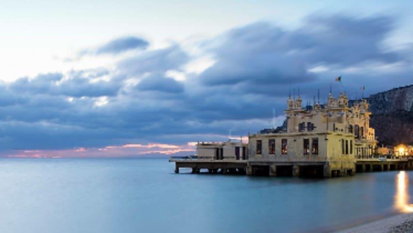 Stanze Omero Mondello beach (PA) - Mondello - Villa