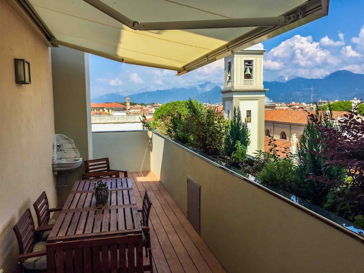 LEVANTE exclusive accommodation, panoramic terrace