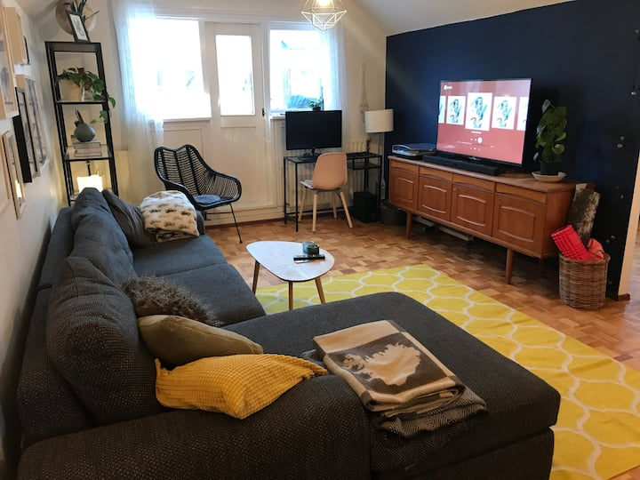 Cozy family apartment in the heart of Reykjavík!