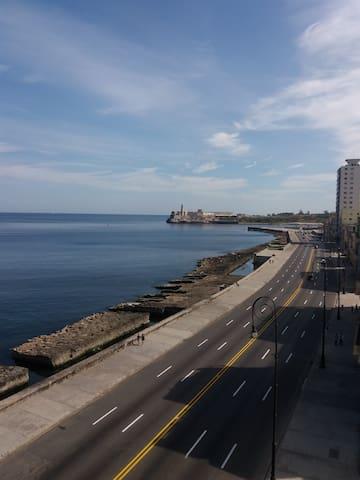 B&B, beautiful and inspiring ocean view