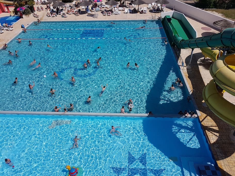 Vue aérienne piscine 1
