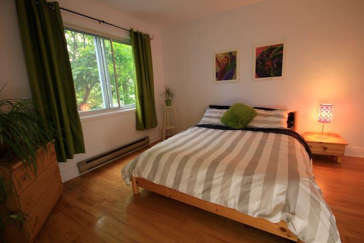 Appartement ensoleillé deux grandes chambres