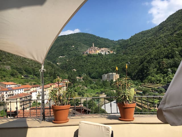 Apartment in Pigna with beautiful view