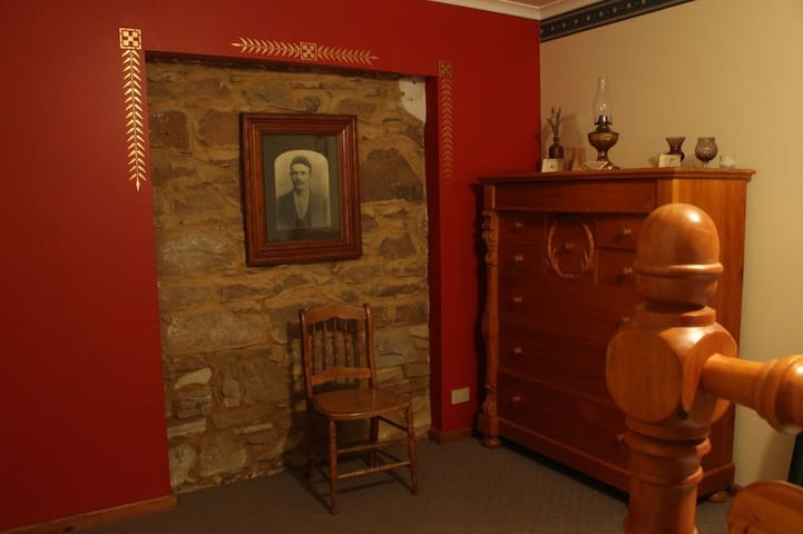 One of the 3 bedrooms. This is the Queen room