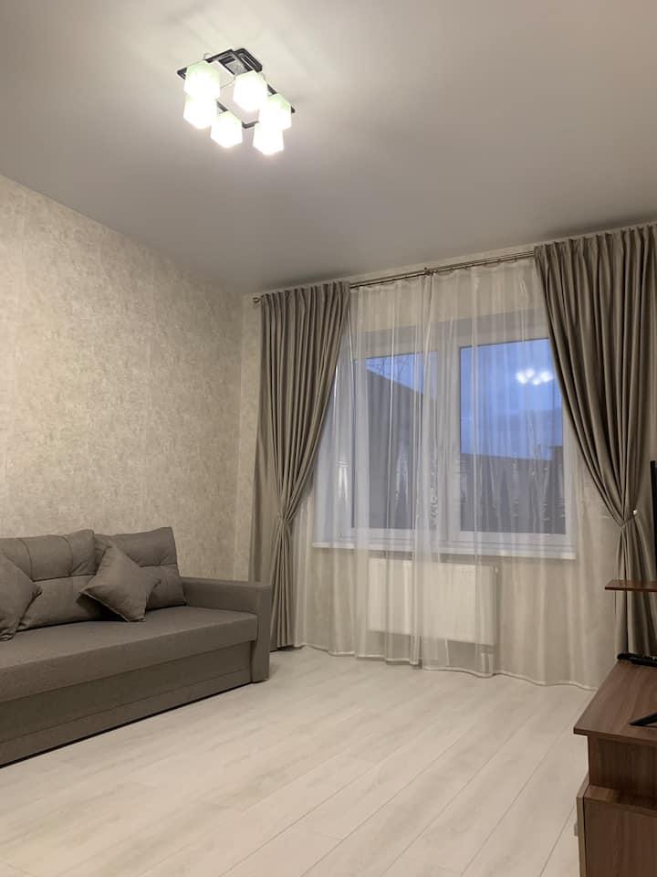 Уютная квартира с новым ремонтом и мебелью