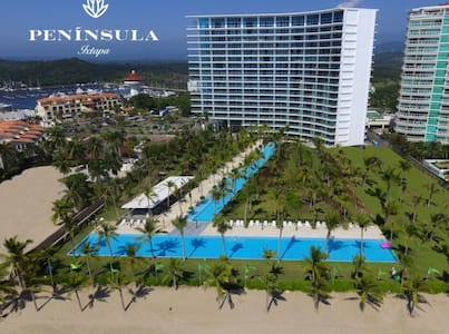 PENÍNSULA Ixtapa! Exclusive BeachFront Condo. New!