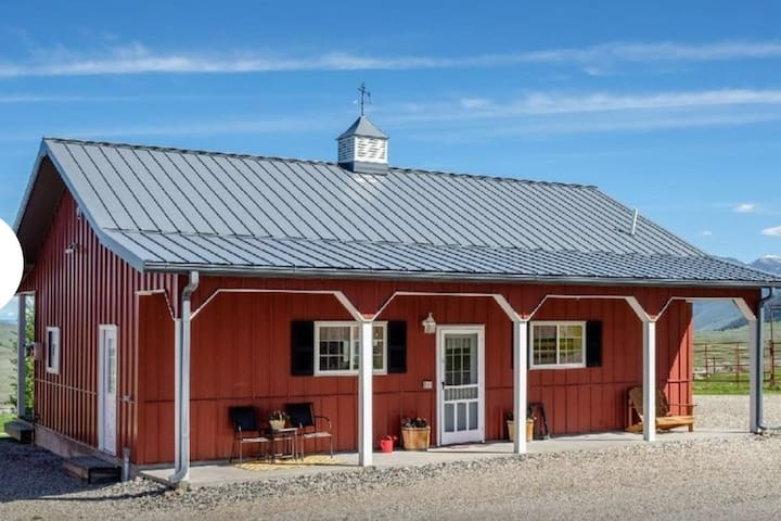 The Little Red Bunk House