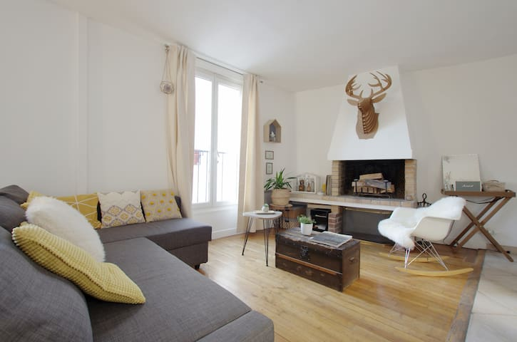 Cosy flat in the romantic Montmartre of Amélie!