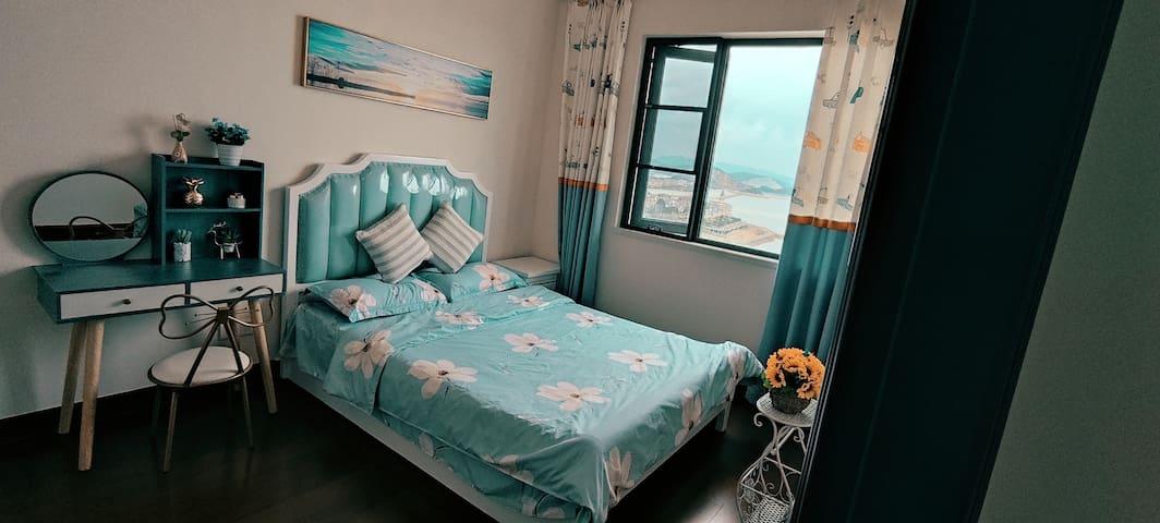一线海景卧室, 海浪陪你入睡The bedroom Nearby The sea