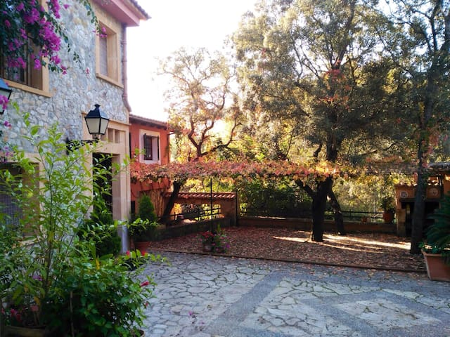 Room to rent in a quiet oasis near Palma - Puigpunyent - Bed & Breakfast
