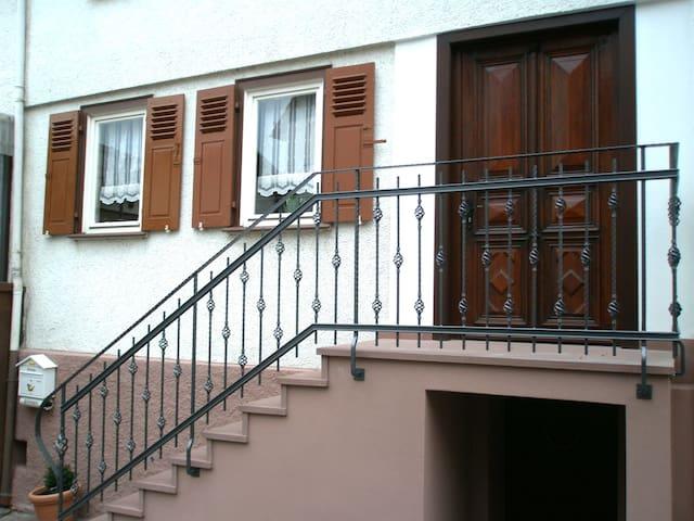 Ferienhaus Pension  unter der Burg - Wettenberg - Appartamento