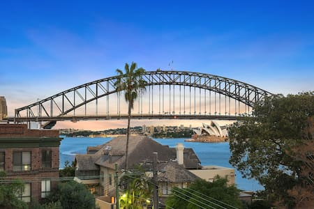 Lux Sydney Studio with Dream Harbour Views - McMahons Point - Huoneisto