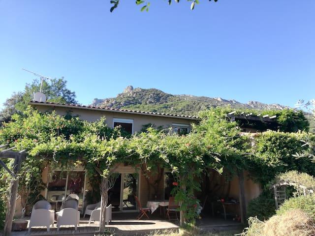 Ruime vakantiewoning gelegen aan Gorges d'Heric