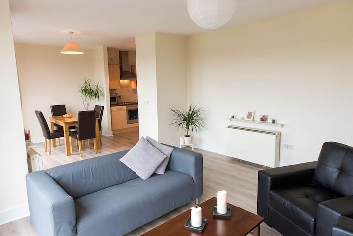 Doubleroom in stunning Penthouse+private Bathroom - Dublin - Lejlighed