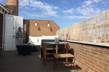 Ático duplex con agradable terraza! Hb. de Literas - Lleida - Apartment
