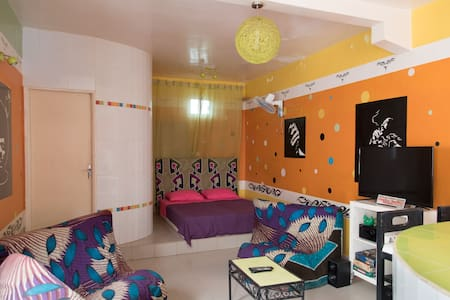 A charming furnished studio apartment - Dakar - Wohnung