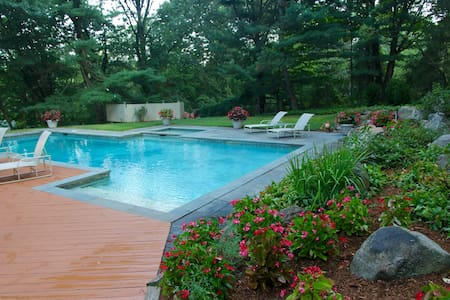 An Oasis in Armonk - Light-filled Contemporary - Armonk - House