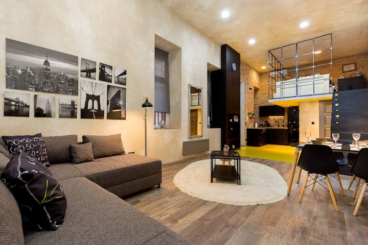 River Luxury Loft - Budapest - Apartment