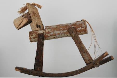 Slapen bij de 'paardenboer' - Waarland - Kabin