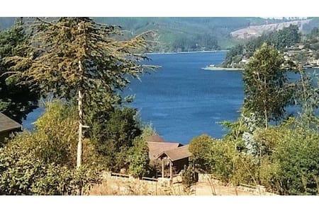 casa lago Vichuquen sector Sta Rosa - Vichuquén