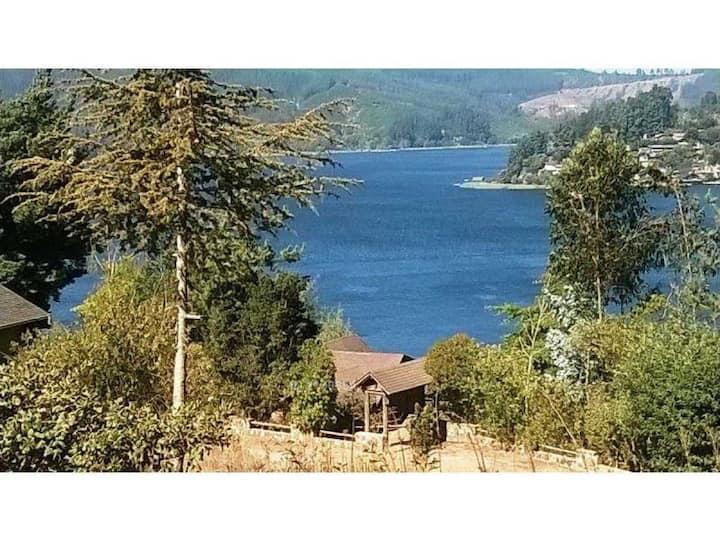 casa lago Vichuquen sector Sta Rosa