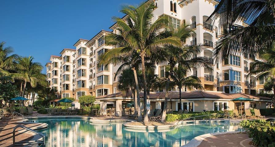 Marriott's Ocean Pointe: Studio, Sleeps 4 - West Palm Beach - Villa