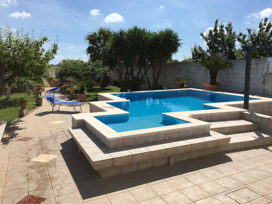 Villa con piscina privata villas for rent in otranto - Villa con piscina puglia ...